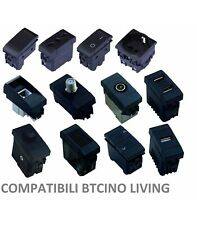 SERIE LIVING INTERNATIONAL COMPATIBILE APPARECCHI DI COMANDO MODULI PRESE INTERR