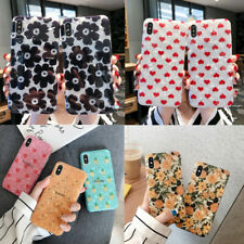 For Apple iPhone Xs Max XR X 7 8 Plus 6s Cute Shell  Pattern Silicone Case Cover