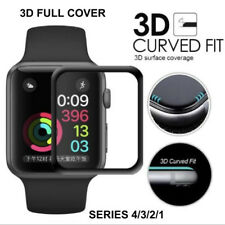 3D Tempered Glass Screen Protector For iWatch Apple Watch 4/3/2/1 Full Cover