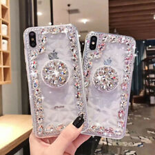 Luxury Bling Diamond Case Pop Up Holder Stand For Xiaomi Redmi note7/Note6/A2/6X