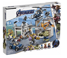 Avengers Endgame Super Heroes Marvel COMPOUND BATTLE Set Toy Play Brand New