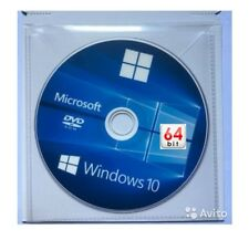 MICROSOFT WINDOWS 10 Pro PROFESSIONAL 64 & 32 bit FULL DVD WITH LICENSE KEY
