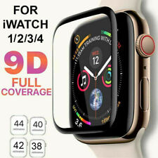 9D Tempered Glass Screen Protector For iWatch Apple Watch 4/3/2/1 38 42 40 44mm