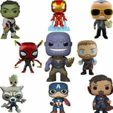 New FUNKO POP Marvel Avengers Iron Man Captain America PVC Action Figures