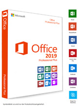 Office 2019 Professional Plus Download-Link /Produkt Key 1-2-3-5 PC+DVD Rechnung