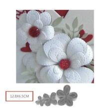 Hollyhocks Flower Metal Cutting Dies New 2019 For Craft Scapbooking Dies Q4R6