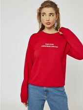 Red Womens Christmas Jumper SkinnyDip 'This is My Christmas Jumper'