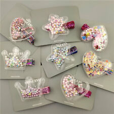 Glitter Star Crown Barrettes Hair Clips for Girls Hair Accessories Twinkle