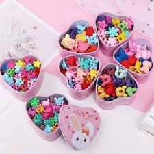 15pcs/Set Girls Cute Colorful Cartoon Small Hair Claws Lovely Children Gifts