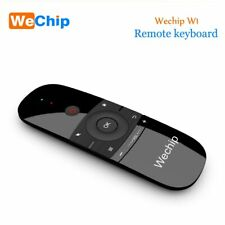 New Original Wechip W1 Keyboard Mouse Wireless 2.4G Fly Air Mouse Rechargeble
