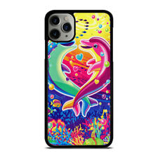 LISA FRANK LOVE DOLPIN iPhone 6/6S 7 8 Plus X/XS XR 11 Pro Max Case Cover