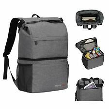 Waterproof 18L Insulated Cooling Backpack Picnic Camping Rucksack Bag Ice Cooler