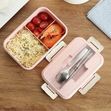 Thermal Lunch Box Bento Box Leakproof Divided Food Container Students Insulated