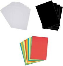 A6 1-500 CRIMSON RED 220GSM CARD PLAIN SHEETS COLOURED CRAFT CARD STOCK