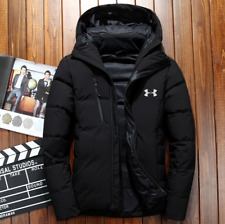 new Under Armour Winter Men's UA Down Hooded Jacket Down Coat Parka High Quality