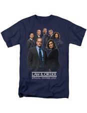 NEW NWT Law and Order SVU Favorite Cast T-Shirt, Officially Licensed