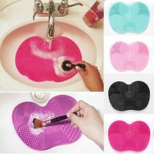 Silicone Makeup Brush Cleaning Pad Mat Brush Washing Tools Cosmetic Eyebrow