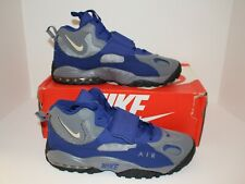 Nike Air Max Speed Turf Training New Men's Cool Gray/Deep Royal Blue 525225 084
