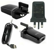 Genuine HTC TCP900 1.5A Mains Charger + USB Cable for Desire 620 610 510 ONE XL