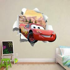 131 Lightning McQueen 2 Cars Light Switch Sticker vinyl  decal