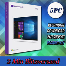 Windows 7/8.1/10 Professional ▩ WIN PRO ▩32&64Bit ▩1-5PC ▩E-Mail versand