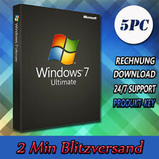 Windows 7▩ Home Premium/Professional/Ultimate ▩32&64Bit ▩1-5PC ▩ E-Mailversand