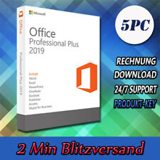 Office 2019 Professional Plus (32&64 Bits) 1-5PC - Versand per E-Mail - 2019 Pro