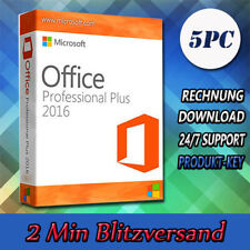 Office 2016 Professional Plus (32&64 Bits) 1-5PC - Versand per E-Mail - 2016 Pro