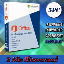 Office 2013 Professional Plus (32&64 Bits) 1-5PC - Versand per E-Mail - 2013 Pro