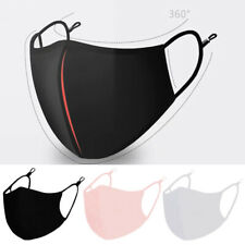 New Cotton Face Cover Activated Carbon PM2.5 Filter Washable Reusable Hot Sale