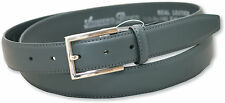 """NEW MENS GREY LEATHER BELT STYLE 5401 SIZE 32"""" - 48"""""""