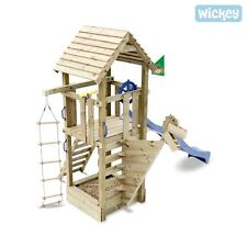 WICKEY Captain Blue Spielturm Schiff Kletterturm Pirat