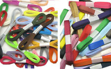 """FREE PP 200y 3mm 6mm 9mm Mixed Premium Assorted Grosgrain Ribbon 1/4"""" 3/8"""" ECO"""