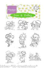CLEAR STAMPS Silikon-Stempel MARIANNE DESIGN Don + Daisy DDS Motivwahl