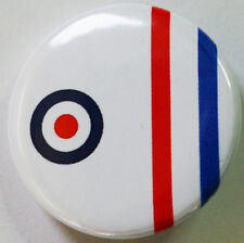 "Mod Target   Button Badge 25mm (1"") or 38mm (1.5"") Badge 1"