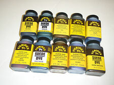 Fiebings Suede and Roughout Dye 118ml (4floz) Various Colours Free UK Post
