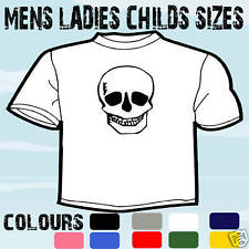 HALLOWEEN PARTY SKULL T-SHIRT ALL SIZES & COLOURS