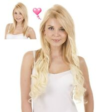 "Clip in Full Head Curly Hair Extensions | 18""  Long 