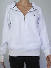NEW Plongee womens Size S M white pullover hoodie
