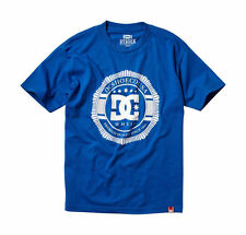DC MENS ROB 'RD' DYRDEK 'LUX CREST TEE' T-SHIRT ROYAL BLUE £21.99