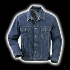 Original GOOD Jeansjacke DENIM Darkstone Freizeit Jeans Jacke Blau -- M L XL XXL