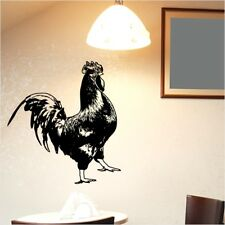 ROOSTER chicken kitchen cafe stickers farm kids chinese trendy wall sticker shop