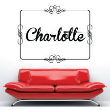 PERSONALISED FRAME wall sticker decal bedroom living room decorations