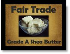 FAIRLY TRADED Grade A SHEA BUTTER (100g-1kg) Natural, Hand Processed & Unrefined