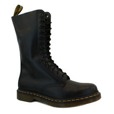 Dr. Martens 1914 Unisex Laced Leather Boots Black