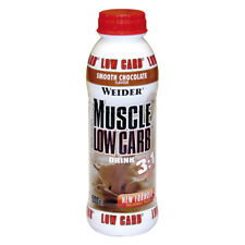 Weider Muscle Low Carb Drink 12 x 500 ml PET-Flasche (5,90 EUR pro 1000 ml)