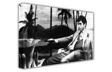 LARGE CANVAS PICTURE PRINT ICONIC BLACK & WHITE SCARFACE AL PACINO / WALL ART