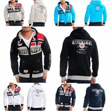 Geographical Norway Sweatjacke Pullovern Hoodie Flyer Gr. S M L XL XXL Jacke