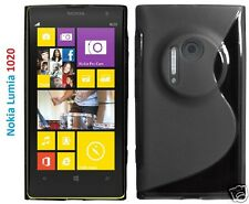 NOKIA LUMIA 1020 SLINE WAVE GRIP GEL POUCH CASE COVER SKIN PROTECTOR