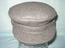 MENS WOOL FIDLER CAPTAIN NELSON CAP BRETTON SAILING BARGE MADE IN ENGLAND